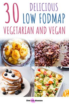 Following an elimination diet is hard. But doing so as a vegetarian or vegan is even harder. The good news is that you can definitely follow the low FODMAP diet if you don't eat animal products. Here's a round-up of 30 low FODMAP vegetarian and vegan recipes to help you plan your low FODMAP meals. Fodmap Diet, Low Fodmap, Fodmap Recipes, Vegan Recipes, Vegetarian Protein, Food Intolerance, Foods To Avoid, Diet Meals, Ibs