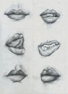 Hoy simplemente os dejo un ejemplo de como dibujar unas bocas realistas. La boca es una parte importante del dibujo, ya que da personalida...