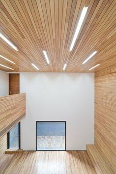 Casa de Hormigón con Ranura / AZL architects (15)