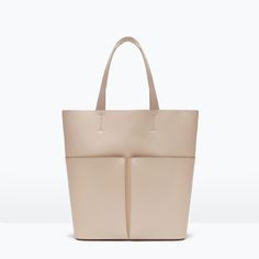 Image 1 of SHOPPER BAG WITH POCKETS from Zara