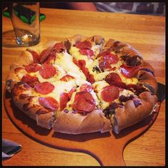 Check Out Beau Jo\'s in Boulder, CO as seen on Man vs Food and featured on TVFoodMaps. Known for Adam Richman heads to Beau Jo's, home of the Mountain Pie -- a massive crust surrounding an avalanche of toppings so massive it can only exist in high altitudes.