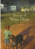 Because of Winn-Dixie by DiCamillo, Kate.   Ten-year-old India Opal Buloni describes her first summer in the town of Naomi, Florida, and all the good things that happen to her because of her big ugly dog Winn-Dixie.  Subjects: Summer Holidays, Dogs, Realistic Fiction