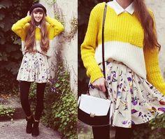 Skirt, Vintage Bag