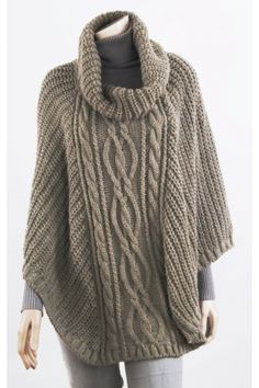 Capelet, Knitted Shawls, Lana, Cowl, Knitting Patterns, Scarves, Turtle Neck, Jasmin, Winter