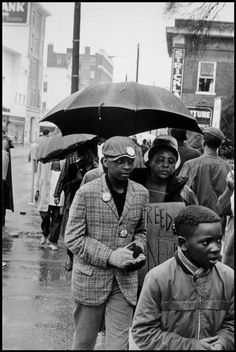 Fannie Lou Hamer, in a civil rights march, Hattiesburg, Mississippi Photo Credit: Danny Lyon.
