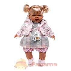 Испанская компания LIorens в 2016 году выпустила уникальную коллекцию кукол, которые невероятно похожи на настоящих детей. Мимика, волосы, одежда - все это продумано до мельчайших деталей. Играя с такими куклами, ваша малышка попробует себя в роли мамы. Она с удовольствием позаботиться о куколке. Кукла Aitana выполнена в виде маленькой, светловолосой девочки. У нее очень красивая одежда. Aitana...