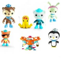 Are you looking for Octonauts toys? Find everything here from the basic playsets to the hard-to-find figures, plushes and rare magazine toys!    The...