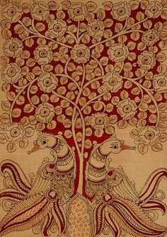 Tree of life in Kalamkari