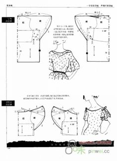 Blouse sleeve patterns