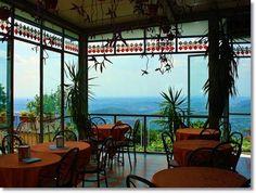Mountain Side Terrace in Brunate... I like it!