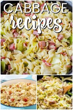 The Best Cabbage Recipes are going to be your new favorites! They are the perfect side dish to any dinner and trust me when I say that there will be no leftovers. Side Dish Recipes, Vegetable Recipes, Low Carb Recipes, Cooking Recipes, Healthy Recipes, Grilled Recipes, Frugal Recipes, Vegetarian Recipes, Leftovers Recipes