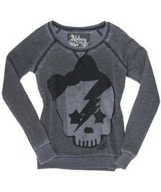 Abby Dawn lightning skull shirt - just need to know where I can find it - link isn't helpful