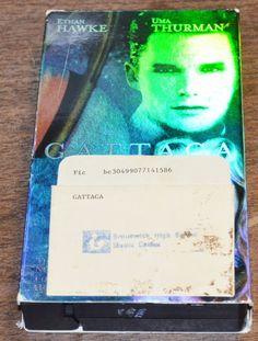 Gattaca VHS 1998 Ethan Hawke Uma Thurman