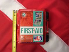 First Aid Kit emergency survival bug out prepare disaster Total Resources Gifts For Scuba Divers, Disaster Kits, Helping Cleaning, Bug Out Bag, First Aid Kit, Home Gifts, Stocking Stuffers, Valentine Gifts, Bugs