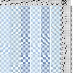 Afbeeldingsresultaat voor plain weave on 8 shaft loom Weaving Patterns, Knit Patterns, Textures Patterns, Loom Weaving, Hand Weaving, Lace Weave, Printable Sheet Music, Weaving Projects, Tea Towels