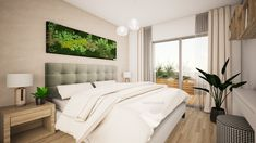 Modern scandinavian design of 2-rooms apartment in Bratislava by #avedesign / Moderný škandinávsky dizajn 2-izboveho bytu v širšom centre Bratislavy od @avedesign.sk www.avedesign.sk #interierovydesign #navrhinterieru #3drender #vizualizacia #interier #interior #interior_delux #interiordesign #interior4inspo #livingroom #livingroomdesign #obyvacka#interiorforinspo #interiorlovers #modernhome #interiordetails #interiorstylist #housegoals #housebeautiful #interiorinspo #homedesign #myhomevibe Design Your Home, House Design, Bratislava, Goa, Design Bedroom, Bedroom Ideas, Scandinavian Design, Bedroom Furniture, Home Goods