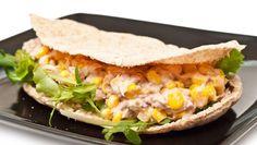 طريقة عمل سندويش التونة والذرة - Tuna and corn sandwich recipe