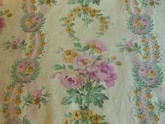 Rose French fabric.