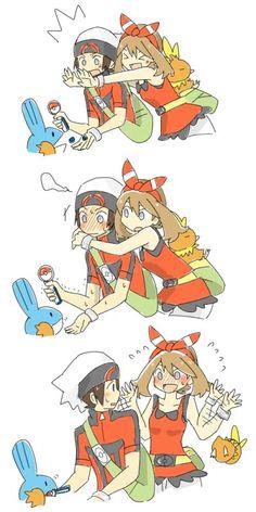 Pokemon Waifu, Pokemon Manga, Pokemon Comics, Pokemon Funny, Pokemon Couples, Pokemon People, Pokemon Ships, Pokemon Game Characters, Fictional Characters