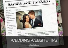 You've snagged your wedding website name, maybe a fun theme, and now you've got to fill it with information. Guests can end up relying pretty heavily on your wedding website, especially…