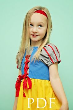 Pattern for Sewing Princess Dresses....Mom this would be a swell project for you to do for Malyha, Quinn & Clare!!!