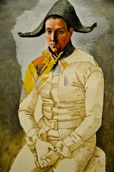 Pablo Picasso - Arlequin, 1923 at Centre Pompidou Paris France | by mbell1975