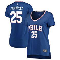 be8243916 Women s Philadelphia 76ers Ben Simmons Fanatics Branded Royal Fast Break  Replica Jersey - Icon Edition