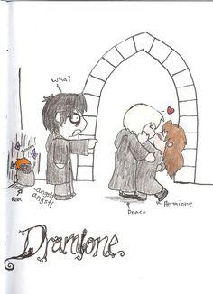 So cute dramione headcanons, draco and hermione, draco malfoy, hermione Harry Potter Animé, Images Harry Potter, Draco Et Hermione, Draco Malfoy, Voldemort, Percy Jackson, Dramione Headcanons, Scorpius Rose, Dramione Fan Art