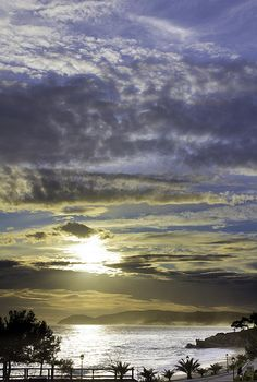 Sunset on Thassos