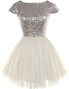 A-line Sequins&Tulle Bateau Neckline Cap Sleeves Short Length Bridesmaid Dress For Harry Potter