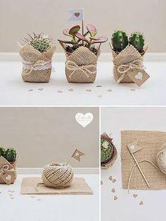 Souvenirs y detalles decorativos para una boda campestre en primavera – Ecología Hoy