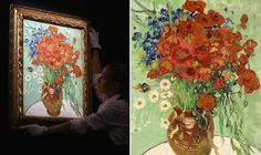 Rare Vincent Van Gogh Painting Sold For Over 60 Million Dollars | http://thebrushstroke.com/rare-vincent-van-gogh-painting-sold-60-million-dollars/