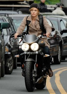 Girls on motorcycles - PICS ONLY - NO COMMENTS - Page 4 - Triumph Forum: Triumph Rat Motorcycle Forums