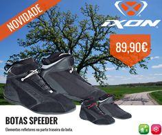 IXON | NOVAS BOTAS SPEEDER || Nova bota na gama de calçado da IXON, a Speeder é muito leve e muito respirável graças a grandes peças em camurça.  Elementos refletores na parte traseira da bota. Fixação com cordões e alça grande no tornozelo - 2 pares de atacadores fornecidos.  Do que está à espera para ir já a um Agente da Lusomotos e experimentar as novas SPEEDER?  #lusomotos #ixon #botas #speeder #calçado #tornozelo #estilodevida #andardemoto #refletores #atacadores