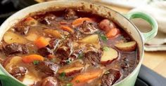 Beef Stew          The meat should fall apart if you just look at it. And the thicker, more flavorful the sauce, the better.   PREP TIM...