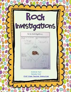 Have your students bring a rock to class to investigate.  They will draw their rock and describe its properties.  Then introduce then to the rock cycle with the Igneous, Sedimentary, Metamorphic foldable.  They will write descriptions of the different types of rocks and draw examples.