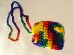 Crocheted Soap Saver Keychain Holder Lip balm by ToppyToppyKnits, $5.00