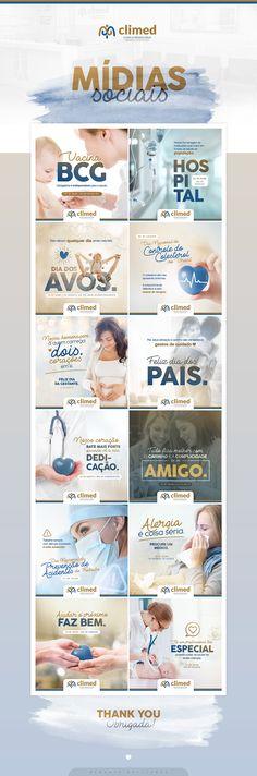 Climed   Mídias Sociais on Behance