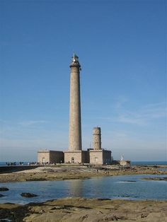 Phare de Gatteville, aka Pointe de Barfleur Light, Basse-Normandie region, France.