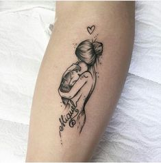 tattoos for daughters / tattoos for women ` tattoos for women small ` tattoos for moms with kids ` tattoos for guys ` tattoos for women meaningful ` tattoos with meaning ` tattoos for daughters ` tattoos on black women Mutterschaft Tattoos, Mommy Tattoos, Baby Tattoos, Future Tattoos, Body Art Tattoos, Small Tattoos, Tatoos, Beste Tattoos, Cool Girl Tattoos