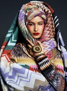 V Magazine, Missoni, Van, Fashion Photography, Missing Her, Luxury, High Fashion, Color, Textiles
