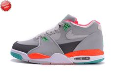 Deals On 306252-023 Grey Leather Nike Air Flight 89 ERMEVG