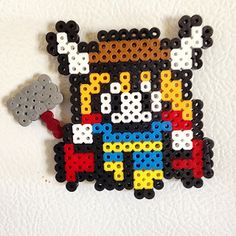 Thor perler beads by ace858