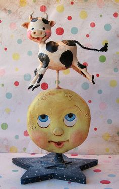 The Cow Jumped Over the Moon by thepolkadotpixie, via Flickr