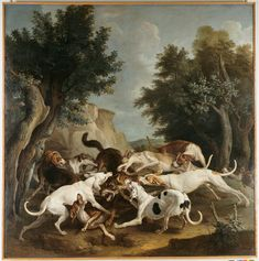 Chasse aux loups. Diaporama