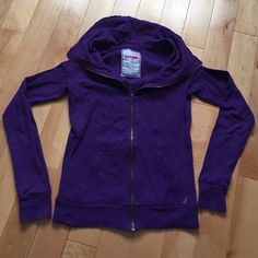 Purple zip up The brand is garage, size small. Purple zip up cotton shirt. like new! Garage Tops