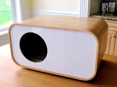 moderncat :: cat products, cat toys, cat furniture, and more…all with modern style Crazy Cat Lady, Crazy Cats, Animal Gato, Cat Cave, Cat Condo, Pet Furniture, Animal House, Dog Houses, Cat Design