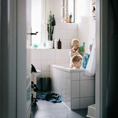 """""""After a long day of playing in the mud and rain a bubble bath is in order"""" explains photographer Ashleigh Raddatz @ashraddatz from #Jena #Germany. To submit your images of growing up for consideration on our feed simply follow @childhoodeveryday and tag your photos #childhoodeveryday. // #childhood #bubblebath #bathtime #summer #naturallight"""