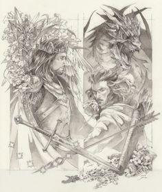 Thilbo Heaven The Hobbit Slash Tolkien Hobbit, Hobbit Art, Tolkien Books, Lotr, The Hobbit, Aragorn, Legolas, Arwen, Kili