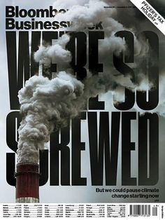 Bloomberg Businessweek (New York, NY, USA) I like this design because the photo interacts with the text really well and the smog blocks it just enough to get their point across but not so much that you can't read the text. Newspaper Layout, Newspaper Design, Newspaper Cover, Ad Design, Layout Design, Print Design, Graphic Design Posters, Graphic Design Typography, Editorial Layout